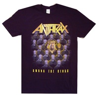 Anthrax Among The Kings Tour Shirt