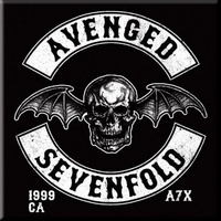 Avenged Sevenfold Death Bat Crest Magnet