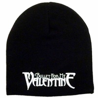 Bullet For My Valentine Embroidered Logo Beanie