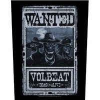Volbeat Wanted Back Patch