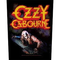 Ozzy Osbourne Bark At The Moon Back Patch