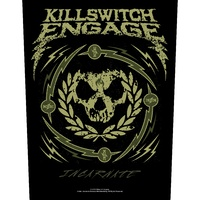 Killswitch Engage Incarnate Skull Wreath Back Patch