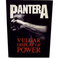 Pantera A Vulgar Display Of Power Back Patch