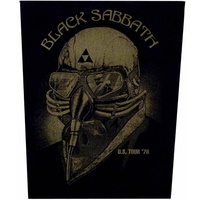 Black Sabbath US Tour 78 Back Patch