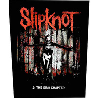 Slipknot Gray Chapter Back Patch