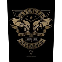 Avenged Sevenfold Orange County Back Patch