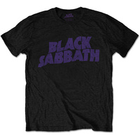 Black Sabbath Master Reality Logo Kids T-Shirt 5-12 Years