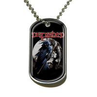 Disturbed Reaper Dog Tag Necklace