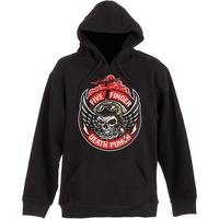 Five Finger Death Punch Bomber Patch Pullover Hoodie