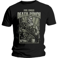Five Finger Death Punch War Soldier Shirt