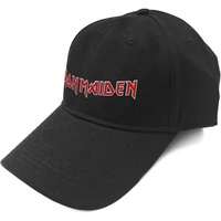 Iron Maiden Logo Black Baseball Cap Hat