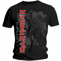 Iron Maiden Hi Contrast Trooper Shirt