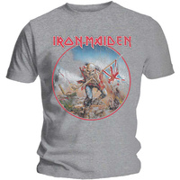 Iron Maiden Vintage Trooper Grey Shirt