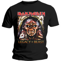 Iron Maiden Legacy Of The Beast Aces Eddie Shirt
