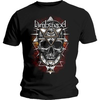 Lamb Of God All Seeing Red Shirt
