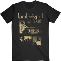 Lamb Of God Album Collage Shirt