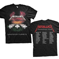 Metallica Master Of Puppets European Tour '86 Shirt