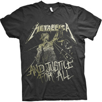 Metallica And Justice For All Vintage Shirt