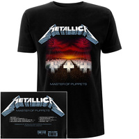 Metallica Master Of Puppets Tracks Shirt