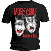 Motley Crue Theatre Of Pain Shirt [Size: L]