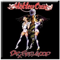 Motley Crue Dr. Feelgood Nurses Magnet