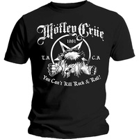 Motley Crue You Can't Kill Rock & Roll Shirt