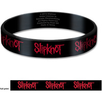 Slipknot Logo Gummy Wrist Band