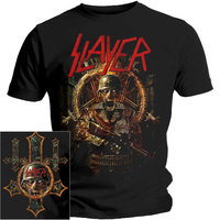 Slayer Hard Cover Comic Book Shirt