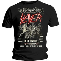 Slayer Hell Awaits Vintage Flyer Shirt