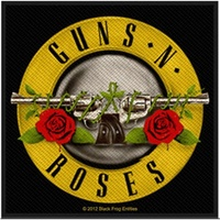 Guns N Roses Bullet Logo Square Patch