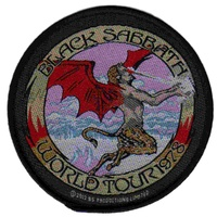Black Sabbath World Tour 78 Patch