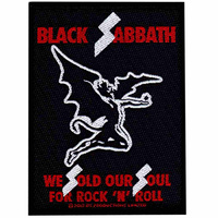 Black Sabbath Sold Our Souls Patch