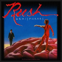 Rush Hemispheres Patch