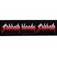 Black Sabbath Sabbath Bloody Sabbath Strip Patch