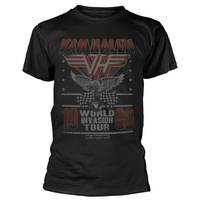 Van Halen Invasion Tour Shirt