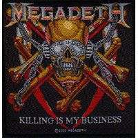 Megadeth Killing Is My Business Woven Patch