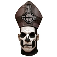 Ghost Papa Emeritus II Latex Delux Mask & Hat