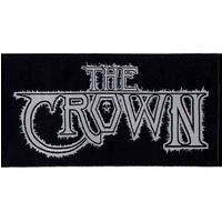 The Crown White Logo Patch