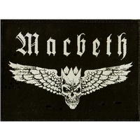 Macbeth Winged Skull Patch