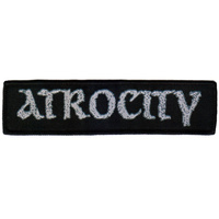 Atrocity New Logo Patch