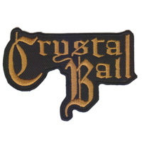 Crystal Ball Cut Out Logo Patch