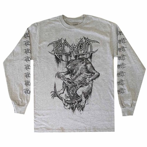 Psycroptic Grey Long Sleeve Shirt [Size: L]