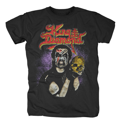 King Diamond Conspiracy Tour 89 Skull Shirt [Size: M]
