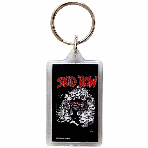 Skid Row Monkey Lucite Keychain