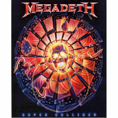 Megadeth Super Collider Sticker