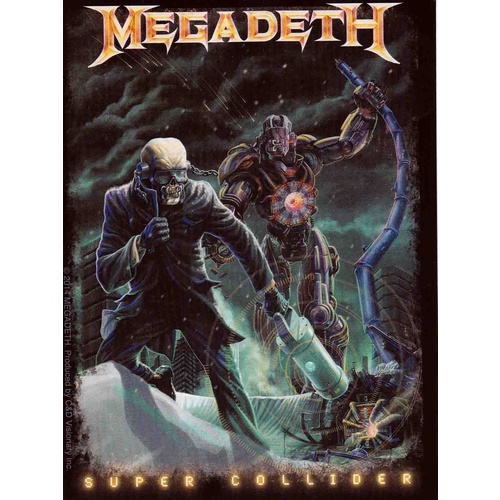 Megadeth Super Collider Vic Sticker