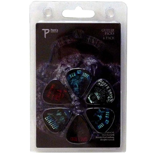 Guns N Roses GR3 Guitar Pick 6 Pack