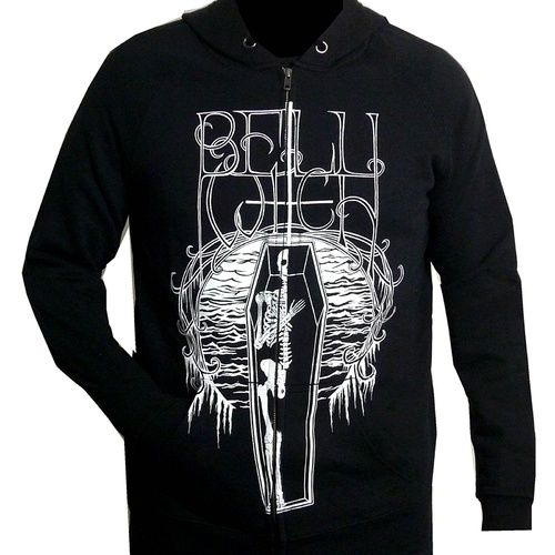 Bell Witch Coffin Zip Hoodie [Size: S]
