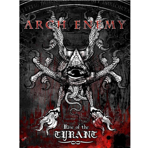 Arch Enemy Rise Of The Tyrant Poster Flag