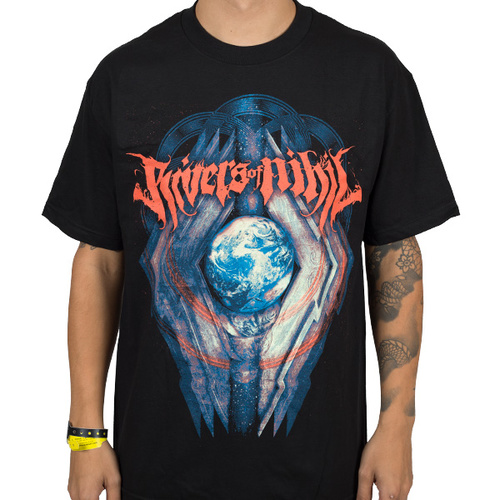 Rivers Of Nihil Globe Shirt [Size: S]
